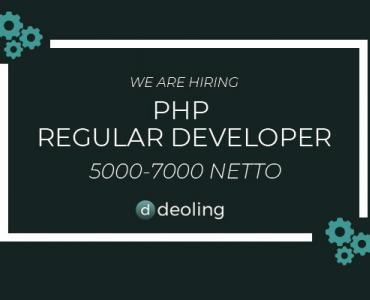 Regular PHP dev